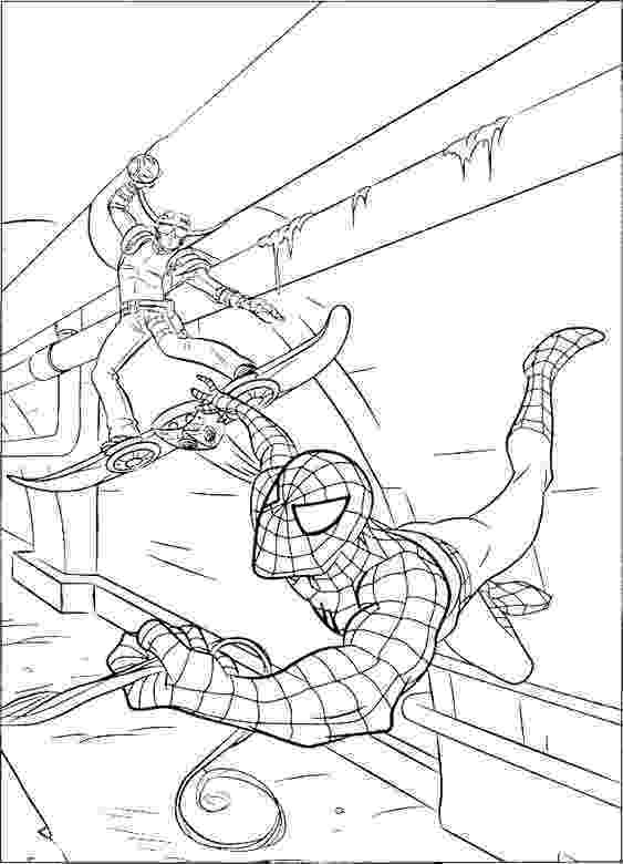 green goblin colouring pages green goblin spiderman and coloring pages on pinterest colouring green goblin pages