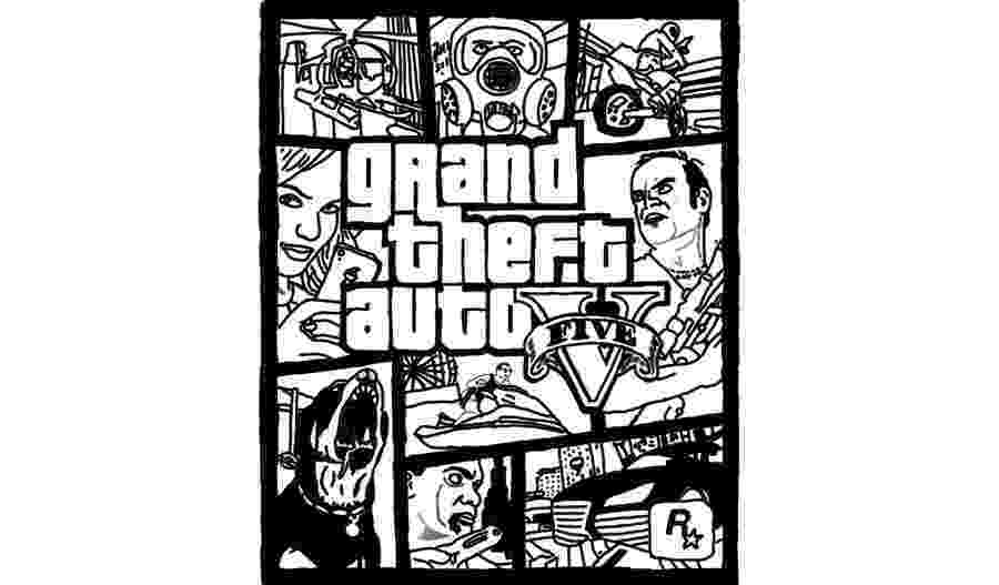 gta 5 cars colouring pages grand theft auto free coloring pages gta colouring cars 5 pages