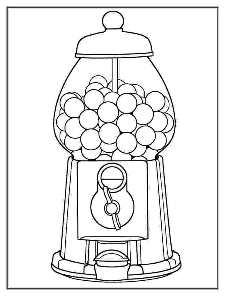 gumball machine coloring page bubble gum machine coloring page coloring home coloring gumball page machine