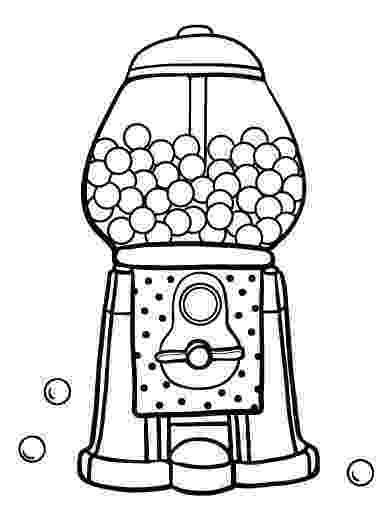 gumball machine coloring page coloring pages for kids page 95 of 256 paint your machine gumball coloring page