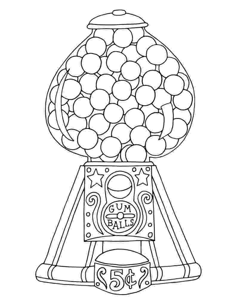 gumball machine coloring page gumball machine coloring pages freebie by pink at heart tpt coloring machine page gumball