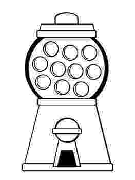 gumball machine coloring page gumball machine for reward chart ot roombulletin boards page coloring machine gumball