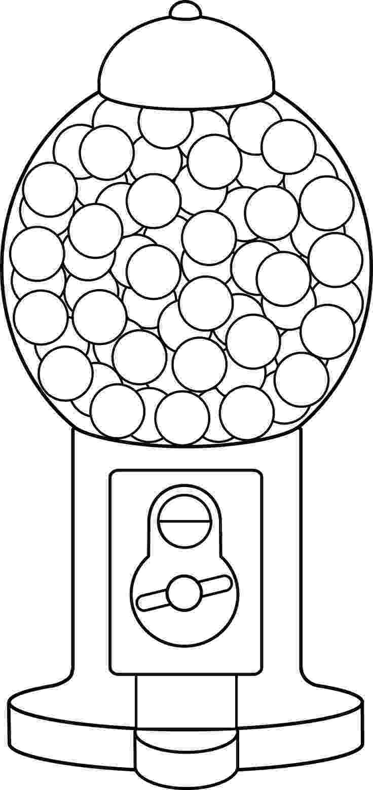 gumball machine coloring page little scraps of heaven designs heart gumball machine coloring gumball machine page