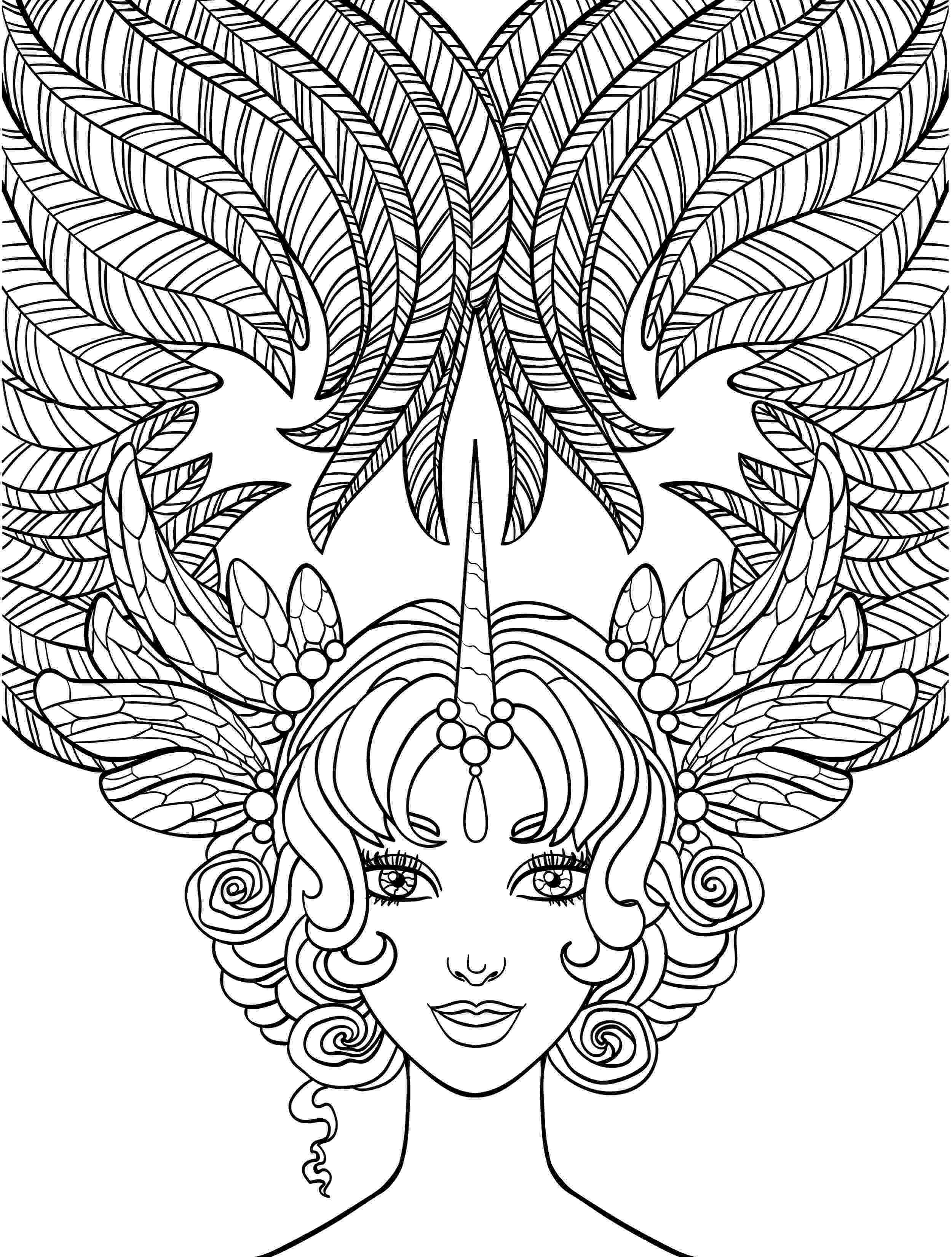 hair coloring pages aeromachia girl flower hair coloring pages pages coloring hair
