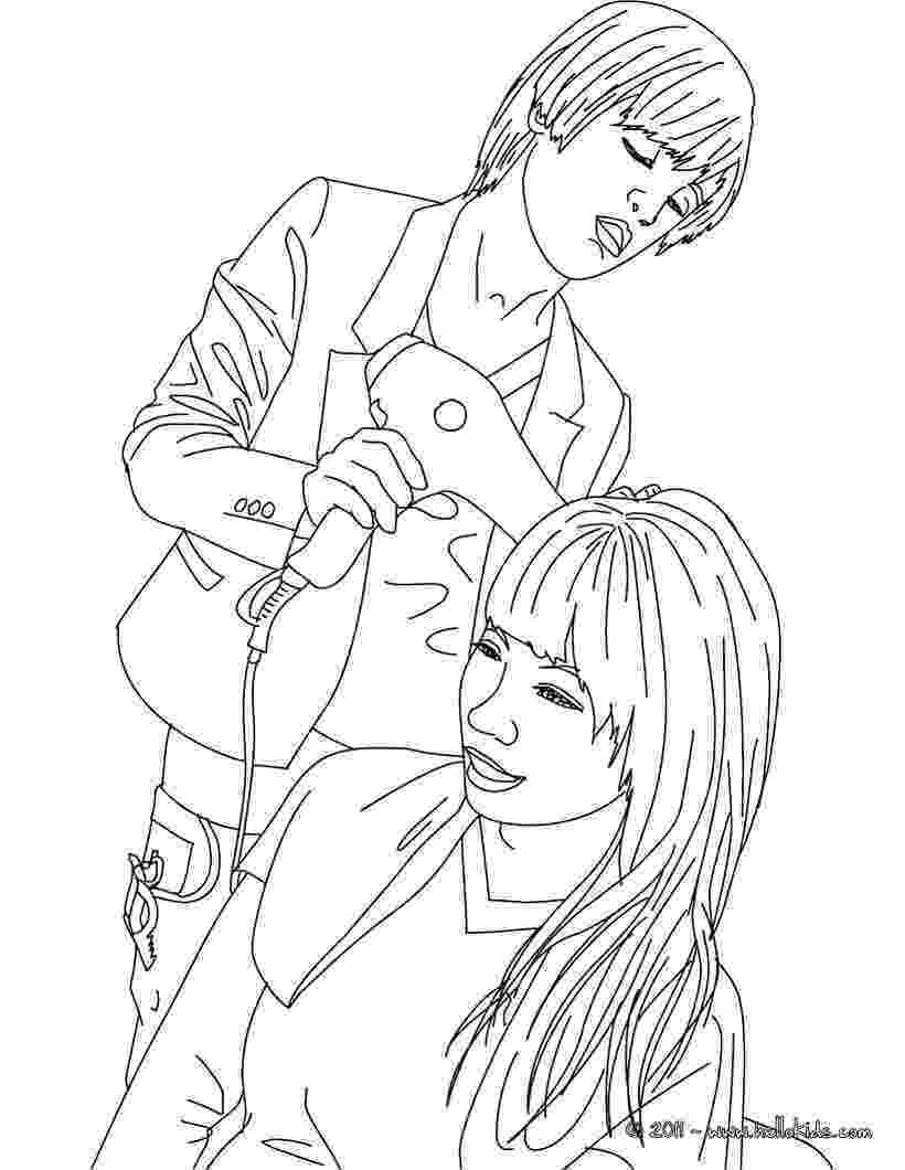 hair coloring pages cartoon hair stylist coloring page free printable coloring pages hair