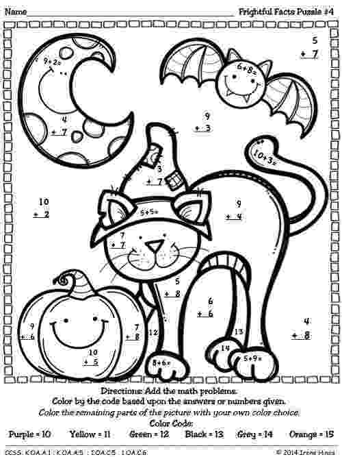 halloween color by number pages halloween coloring pages happy holidays color halloween number by pages