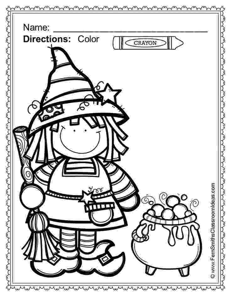 halloween coloring pages packet freebie mini halloween packet by kaitlin bauer tpt coloring halloween pages packet