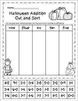 halloween coloring pages packet halloween color by addition and subtraction packet tpt pages halloween coloring packet 1 1