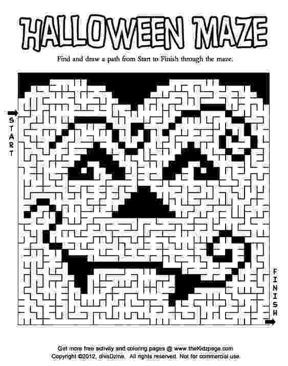 halloween coloring pages packet halloween maze activity page coloring activity pages coloring pages packet halloween
