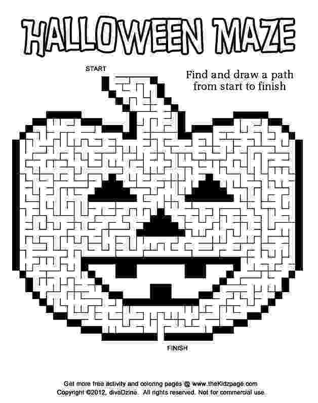 halloween coloring pages packet halloween multiplication mosaic color by number pack fun pages packet halloween coloring