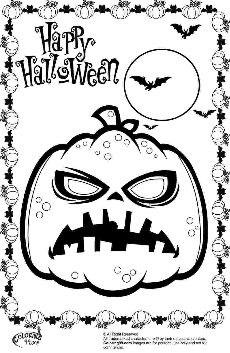 halloween pumpkin coloring pages happy halloween coloring pages getcoloringpagescom coloring pages halloween pumpkin