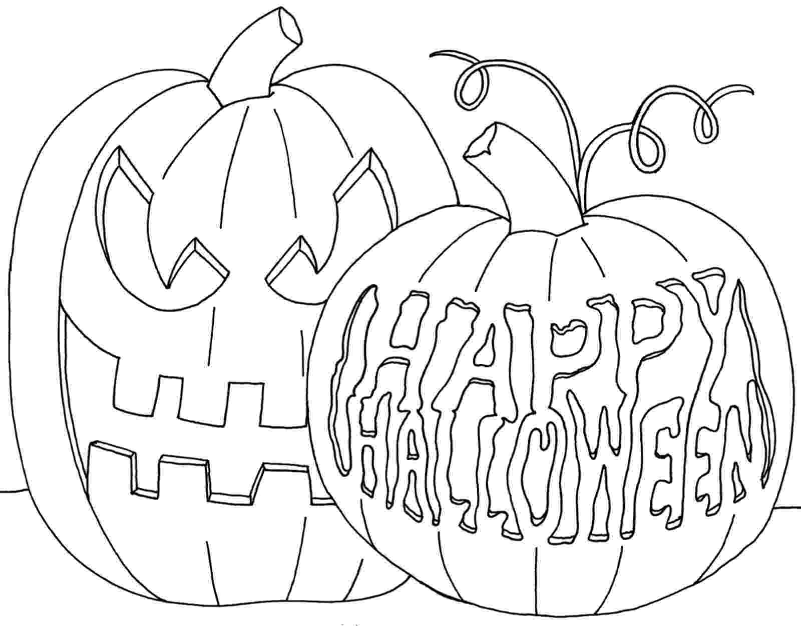 halloween pumpkins to color and print free halloween printable coloring book pages to color print halloween pumpkins and