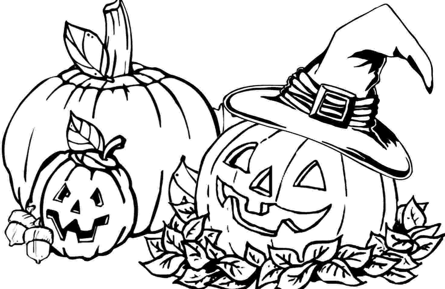 halloween pumpkins to color and print halloween pumpkin coloring pages getcoloringpagescom and print halloween to color pumpkins