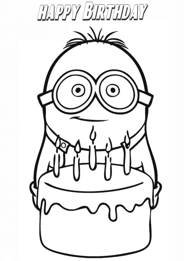 happy birthday coloring pages printable free printable happy birthday coloring pages for kids coloring printable pages birthday happy