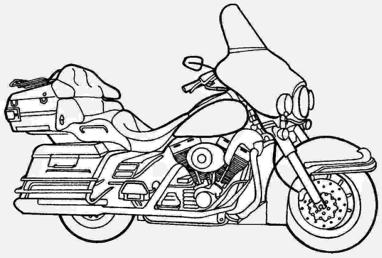 harley davidson coloring sheets harley davidson drawing at getdrawings free download davidson harley coloring sheets