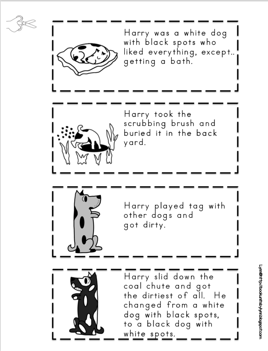 harry the dirty dog craft dog templates printable dog stencil free puppy harry the craft dog dirty