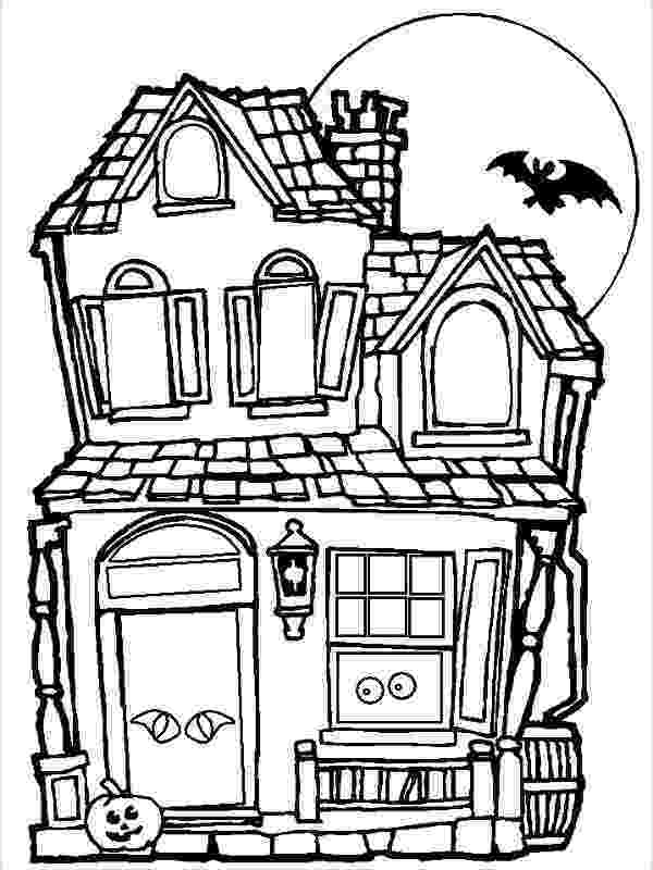 haunted house coloring pages haunted house coloring pages getcoloringpagescom coloring house haunted pages