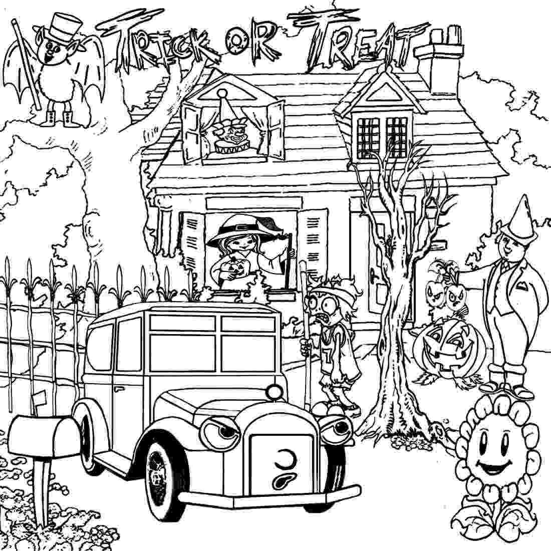 haunted house to color scary haunted house coloring pages download and print for free color to house haunted