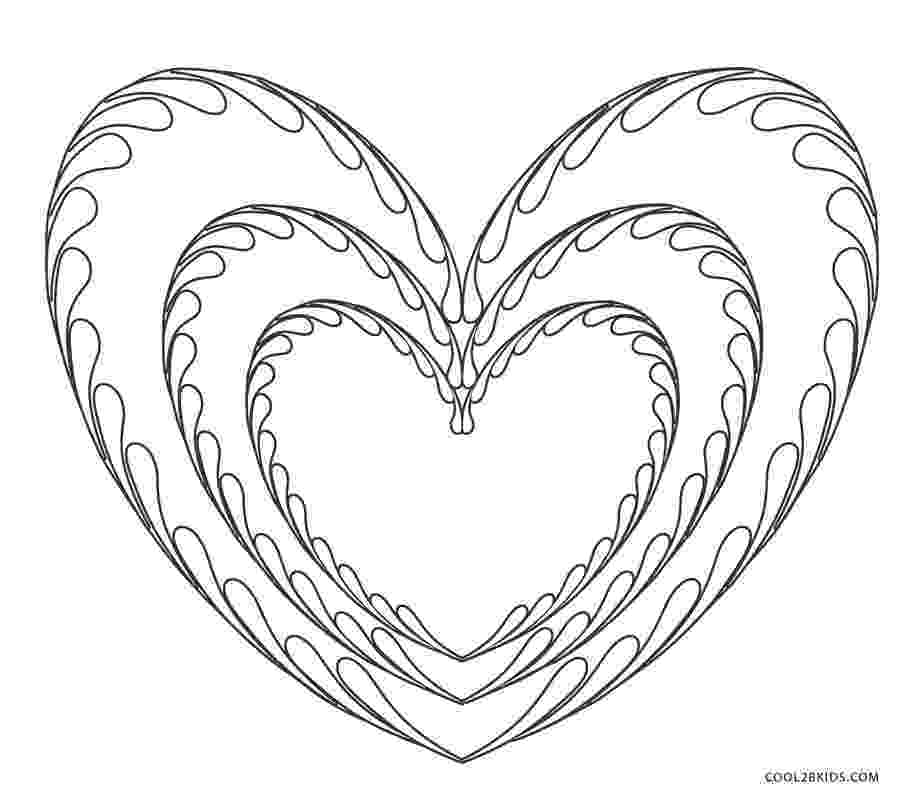 heart coloring pictures free printable heart coloring pages for kids coloring heart pictures 1 1