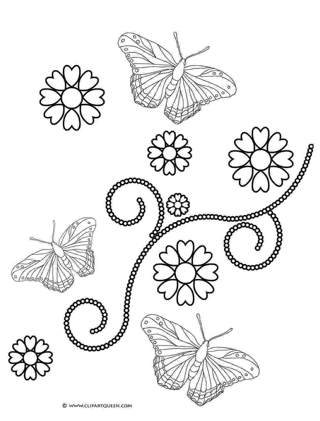 hearts and butterflies 11 valentine39s day coloring pages and hearts butterflies
