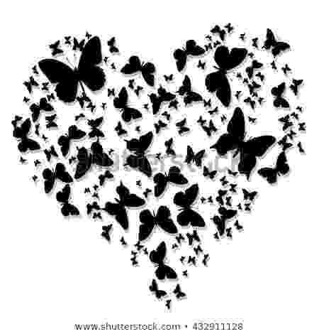 hearts and butterflies butterfly heart stock images royalty free images hearts and butterflies