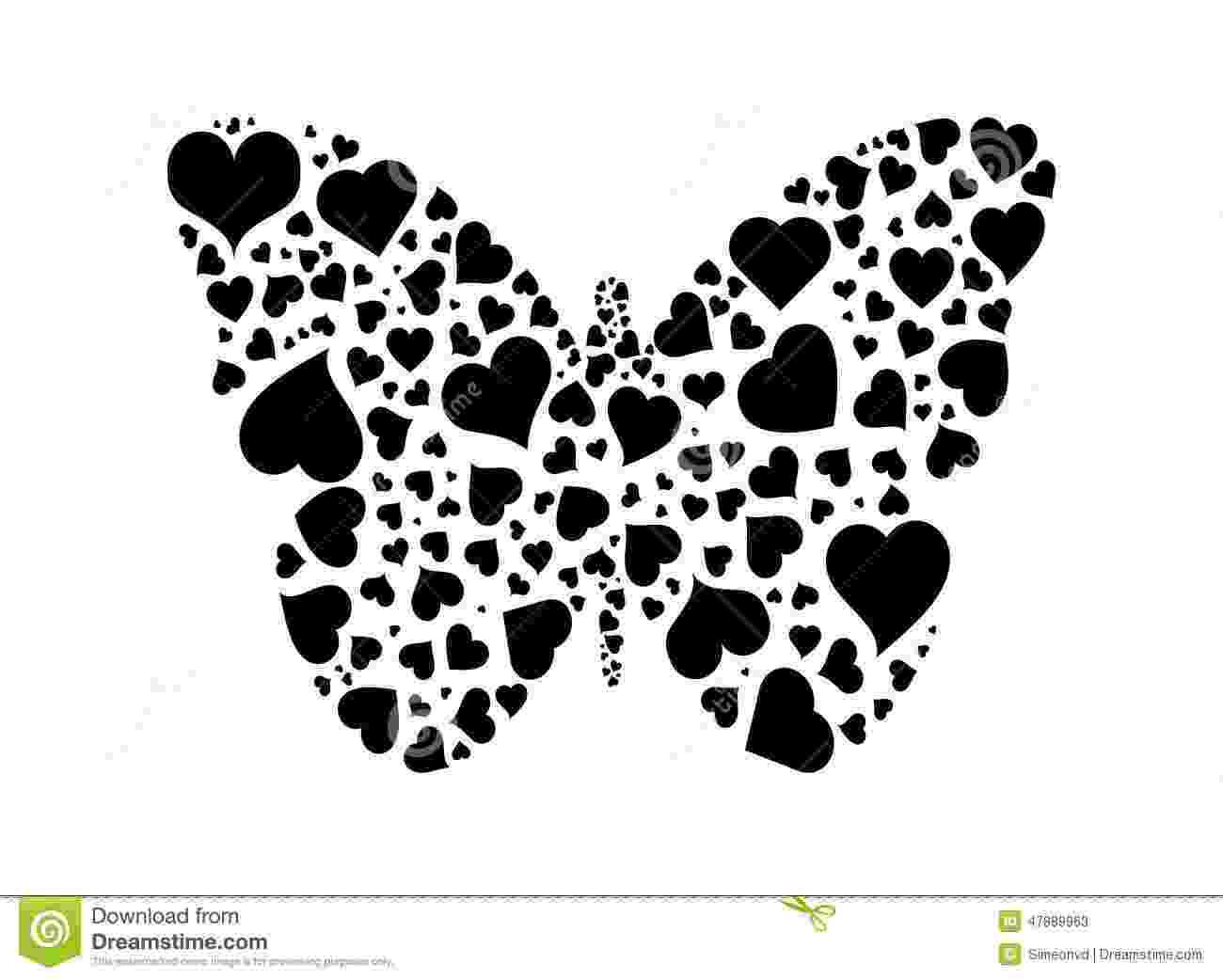 hearts and butterflies butterfly of hearts stock vector image 47889963 and butterflies hearts