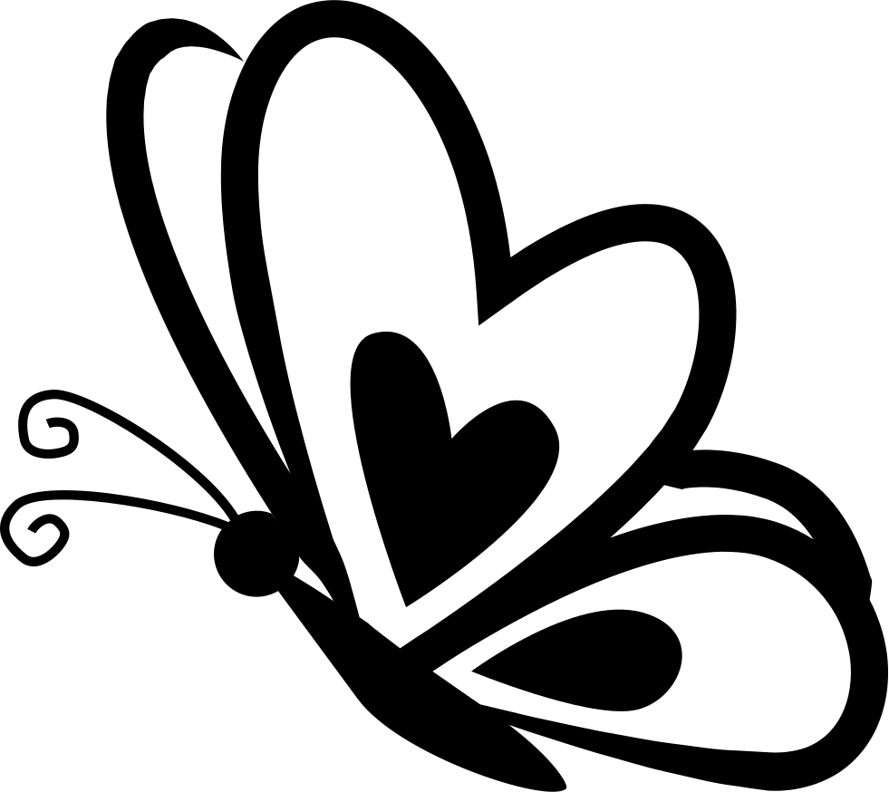 hearts and butterflies butterfly with a heart on frontal wing on side view svg butterflies hearts and