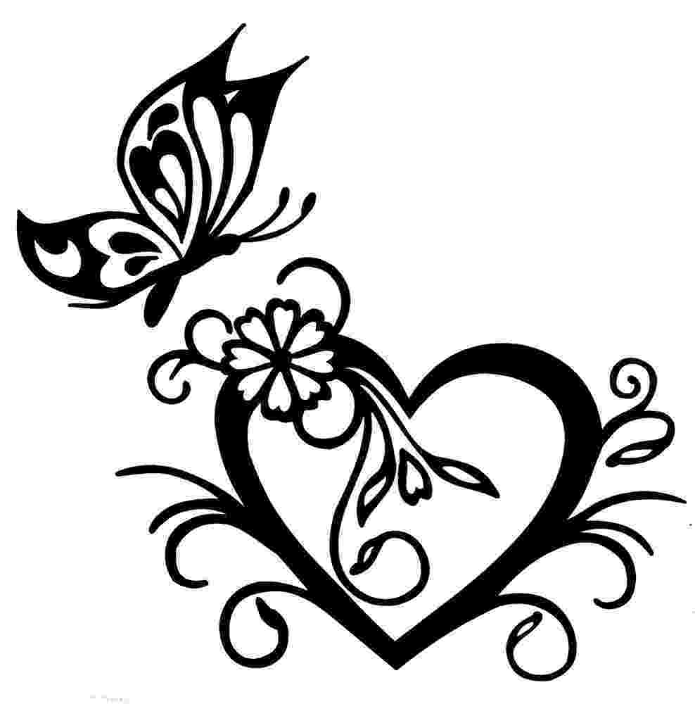 hearts and butterflies butterfly with heart sticker decal brand new for car4x4 hearts and butterflies