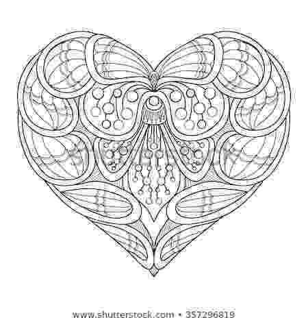 hearts and butterflies love heart butterfly coloring book adult stock vector and butterflies hearts