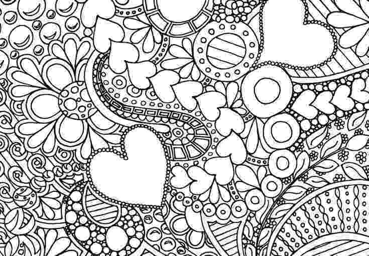 hearts and flowers coloring pages hearts and flowers pattern coloring page free printable coloring and pages hearts flowers