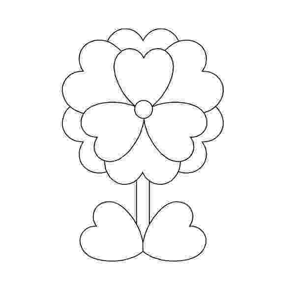 hearts and flowers coloring pages hearts flowers coloring pages for kids gtgt disney coloring and pages flowers coloring hearts