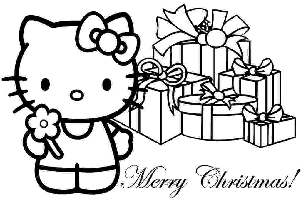 hello kitty christmas coloring pages free print hello kitty christmas coloring page free printable pages coloring hello christmas free print kitty