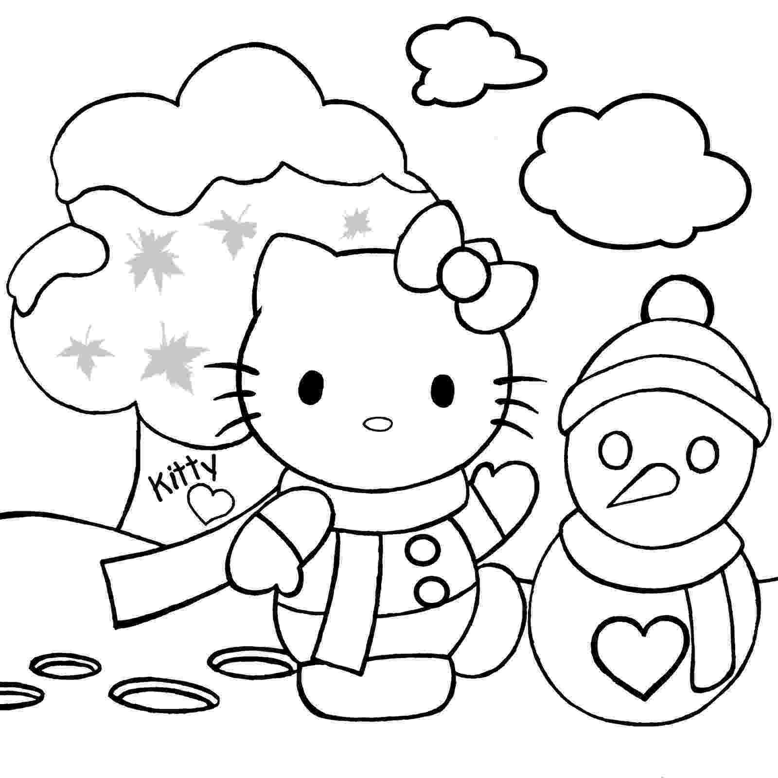 hello kitty christmas coloring pages free print hello kitty christmas coloring pages 1 hello kitty forever pages coloring hello print kitty christmas free