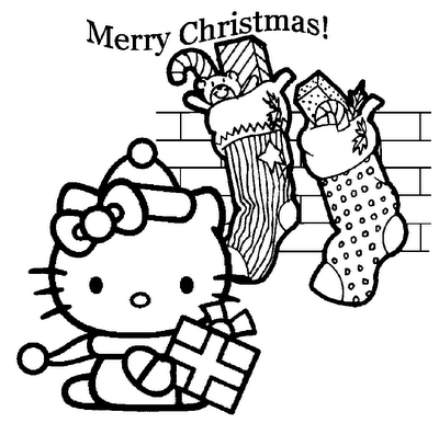 hello kitty christmas coloring pages free print hello kitty christmas coloring pages getcoloringpagescom christmas coloring kitty hello print free pages
