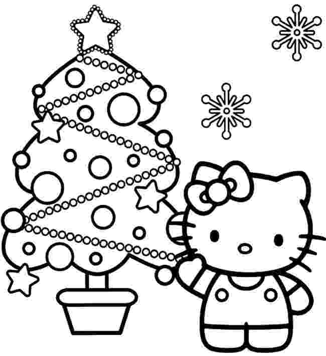 hello kitty christmas coloring pages free print top 30 hello kitty coloring pages to print kitty hello coloring pages christmas print free
