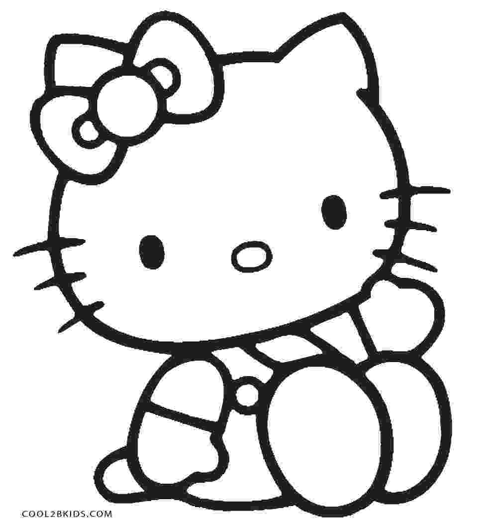 hello kitty color sheets hello kitty coloring pages sheets kitty color hello