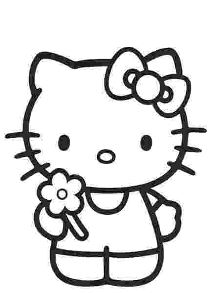 hello kitty color sheets large hello kitty coloring pages download and print for free color hello sheets kitty