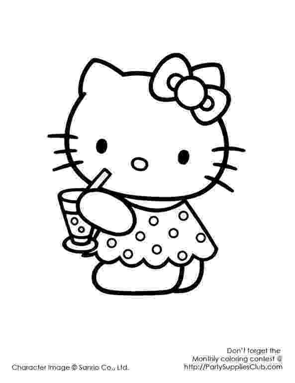 hello kitty happy birthday coloring pages scooby doo happy birthday coloring pages coloring home coloring hello birthday happy kitty pages