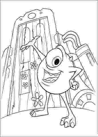 henry j waternoose iii monster inc coloring pages iii waternoose henry j