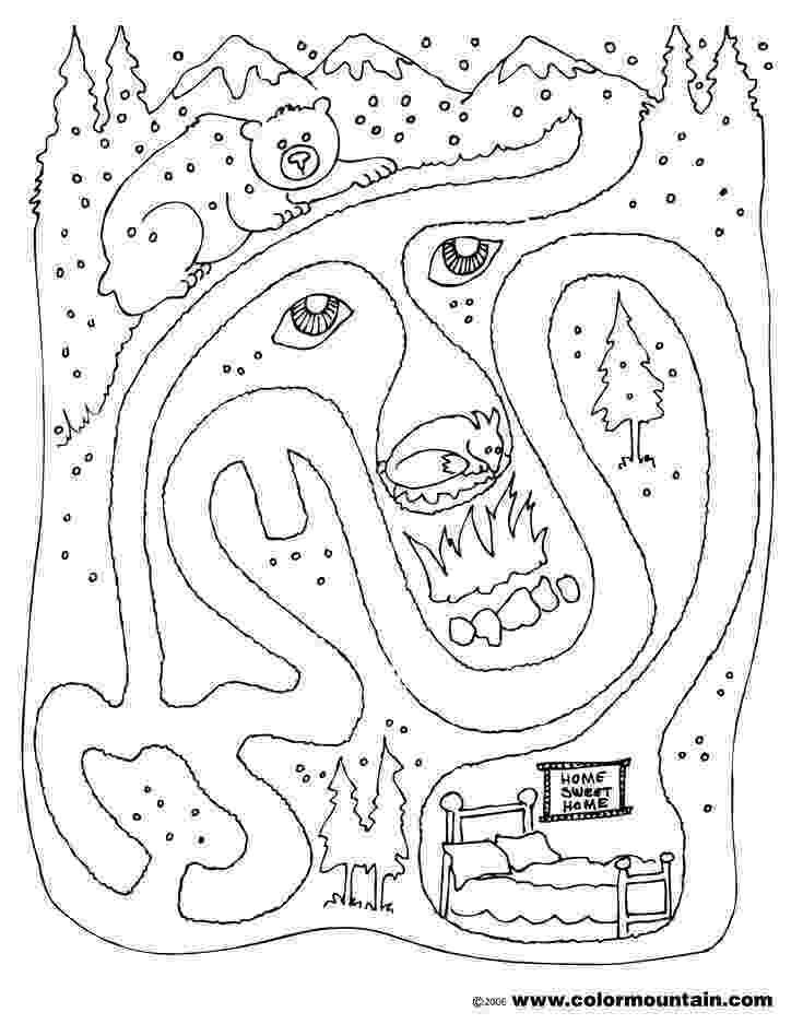 hibernation coloring pages 14 best hibernation images on pinterest preschool winter pages coloring hibernation