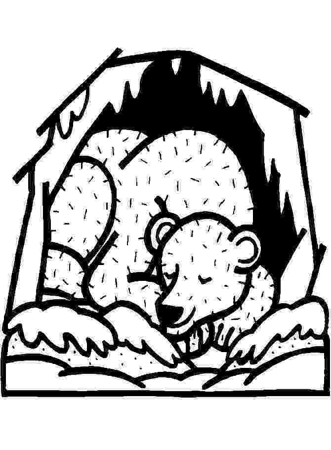 hibernation coloring pages 17 best images about pre school hibernation on pinterest pages coloring hibernation