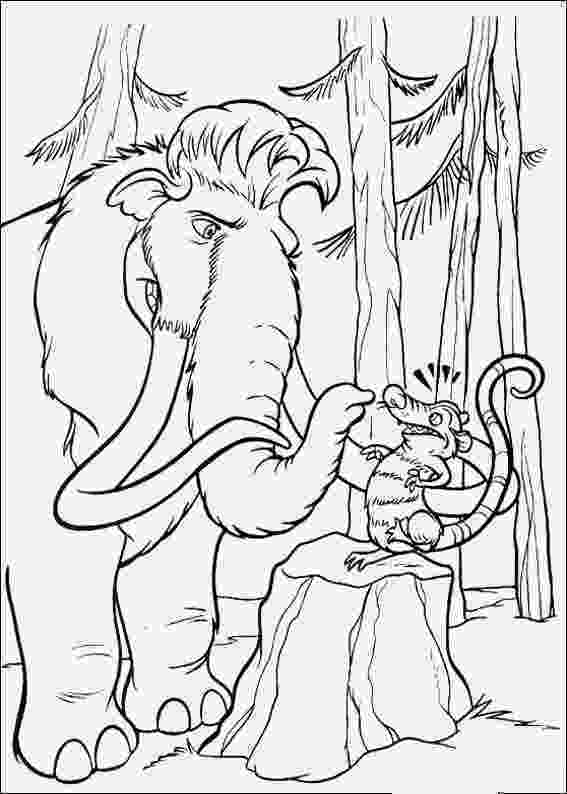 hielo para colorear fun coloring pages ice age coloring pages hielo colorear para