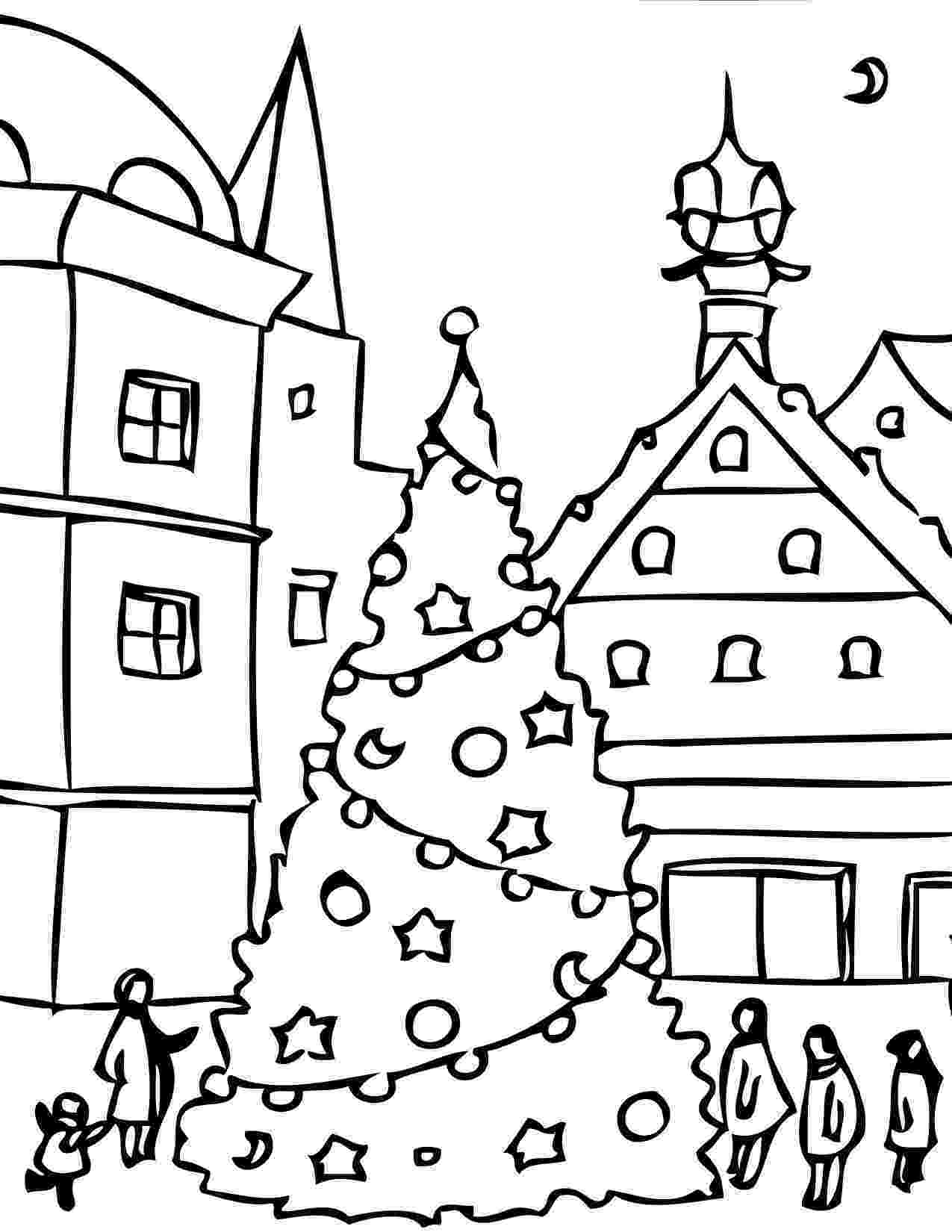 holiday coloring page happy holidays coloring pages printable coloring home coloring holiday page