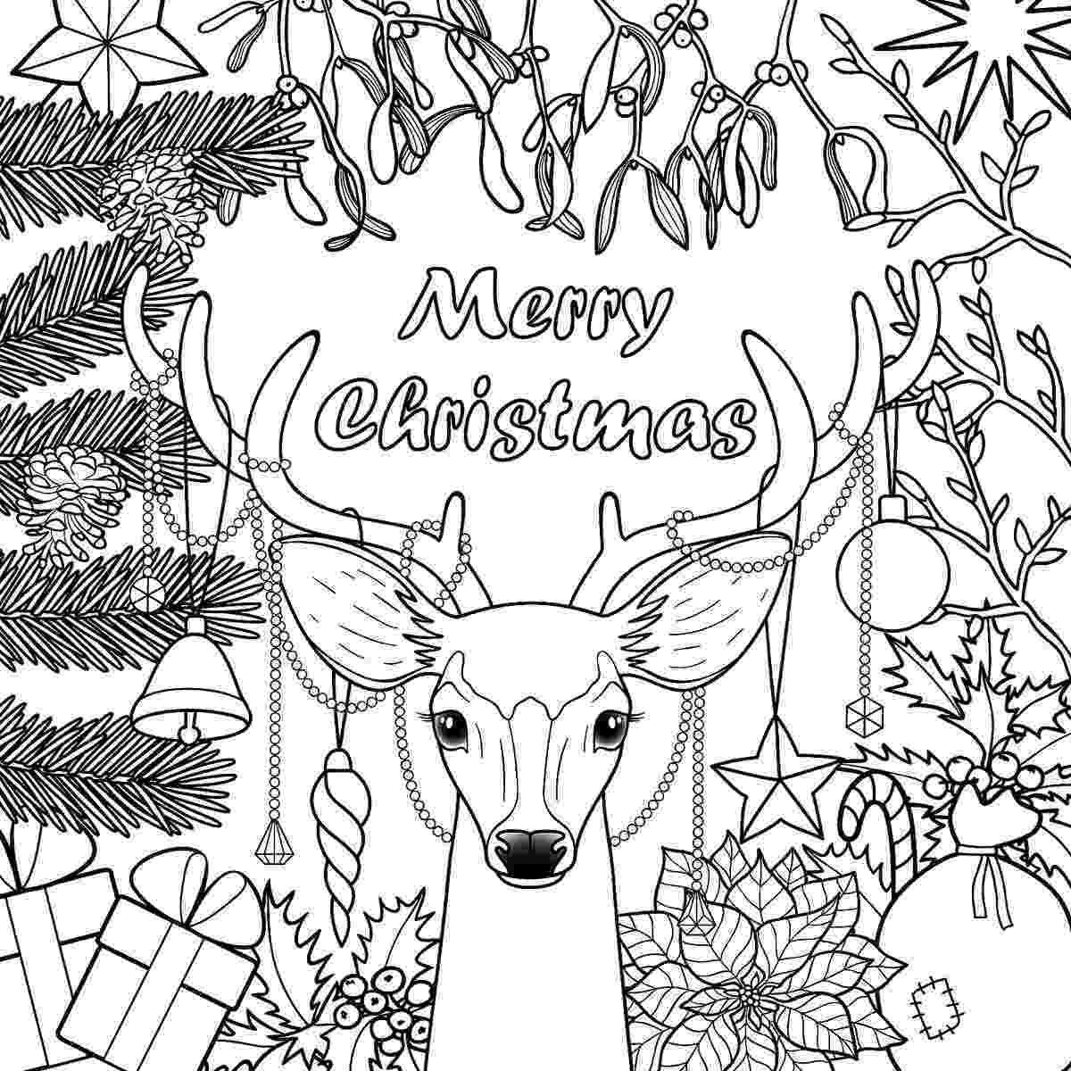 holiday pictures to color christmas coloring pages for kids adults 16 free color to holiday pictures