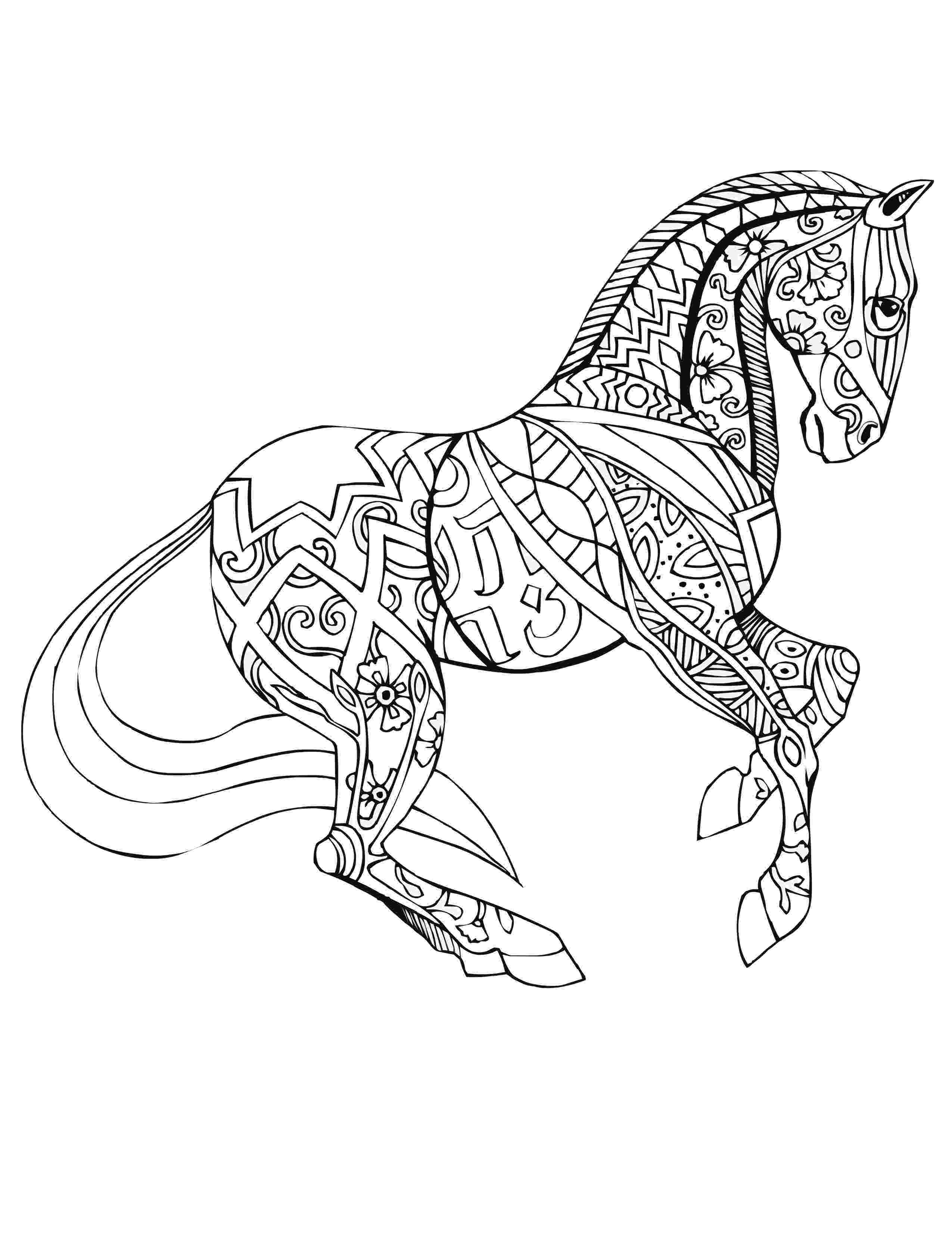 horse coloring pages to print for free woman and mare horse coloring page free printable coloring horse pages for print free to
