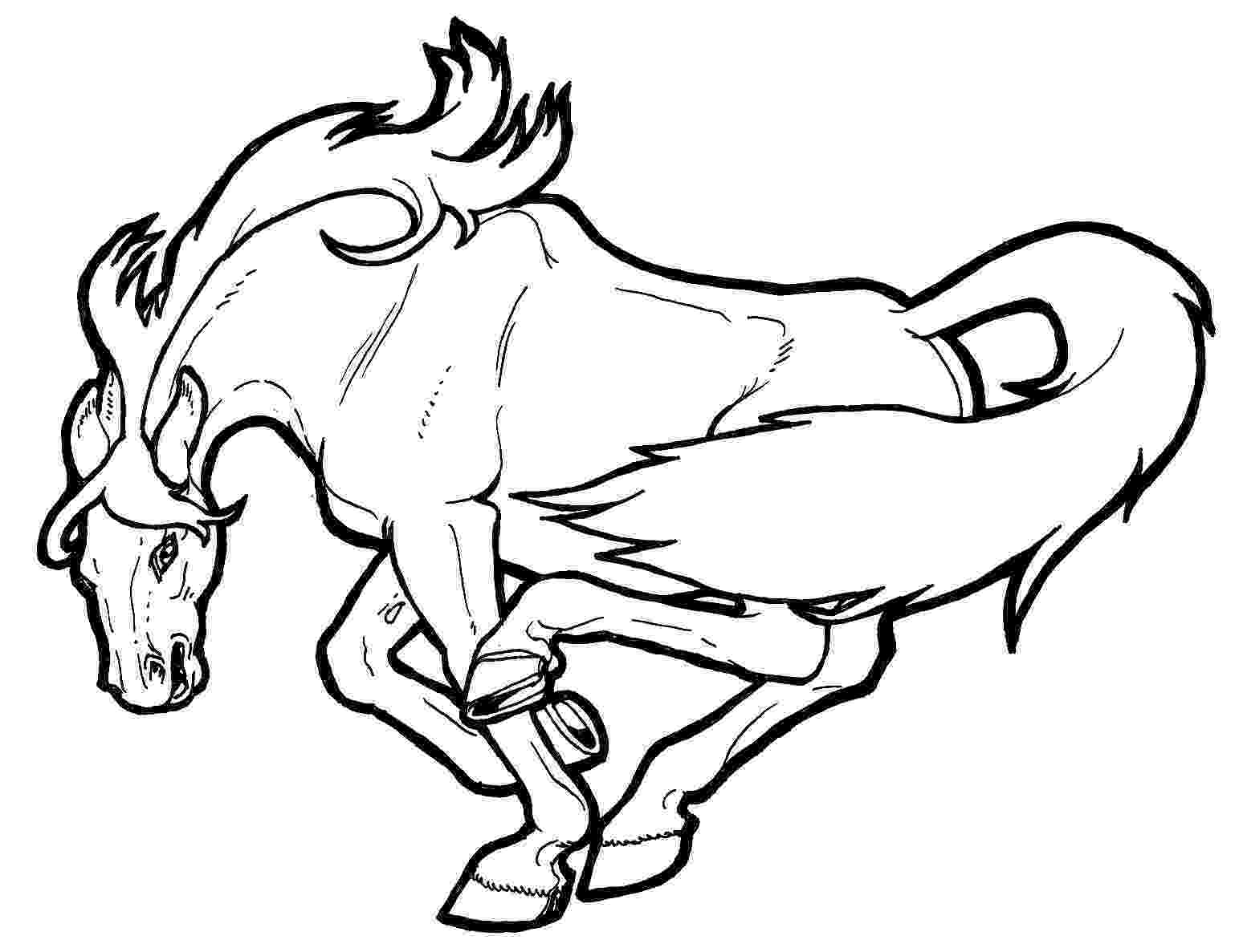 horse colouring coloring town colouring horse