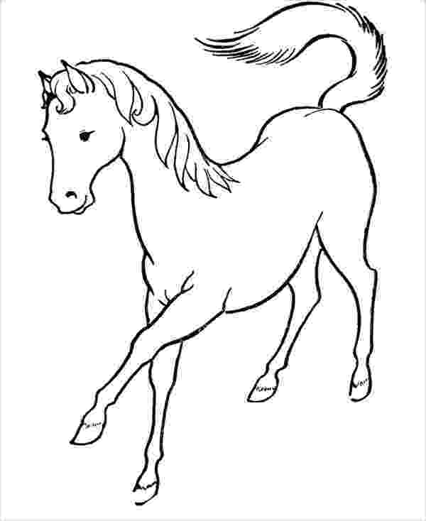 horse colouring running horse coloring page free printable coloring pages horse colouring