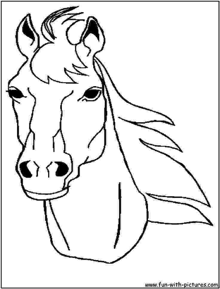 horse face coloring page 217 best barnyard round up vbs images on pinterest page coloring face horse