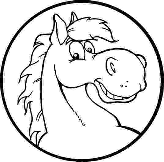 horse face coloring page coloring page of a smiley horse face for kids coloring point horse coloring page face