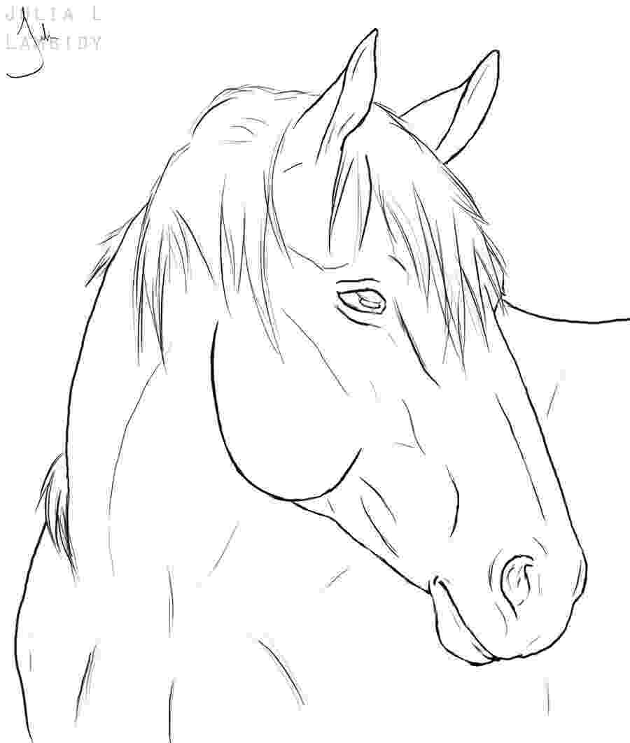 horse face coloring page horse lineart by lambidy on deviantart face horse page coloring